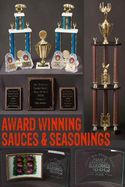 Award Winning Sauces & Rubs